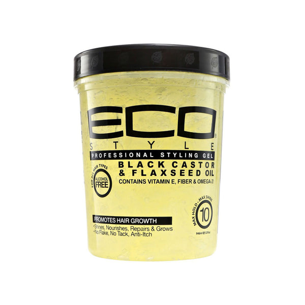 Eco Styler Professional Styling Gel Black Castor and Flaxseed