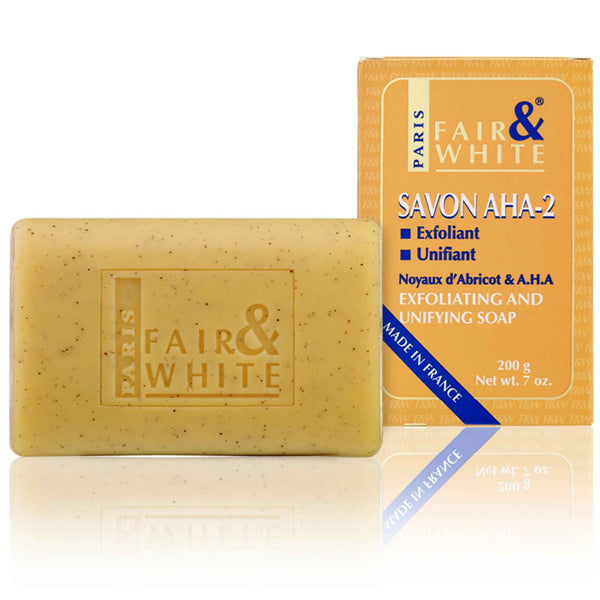 Fair and White Exfoliating And Brightening Soap AHA-2 - 7oz