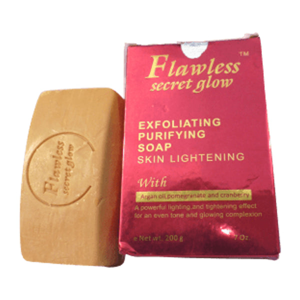 Flawless Secret Glow Exfoliating Purifying Soap