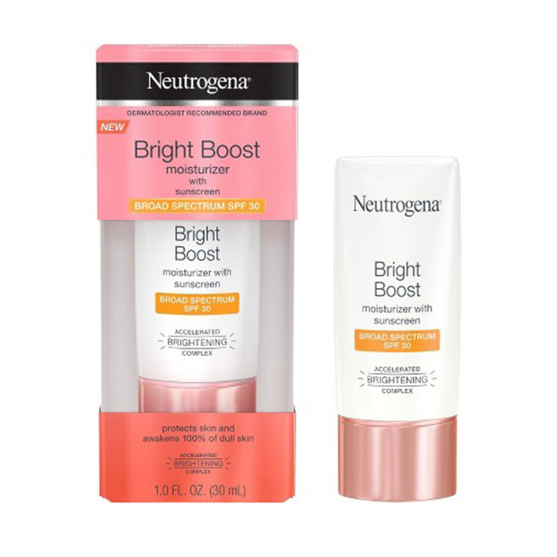 Neutrogena Bright Boost Facial Moisturizer with SPF 30 and Neoglucosamine