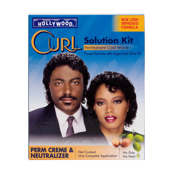 Hollywood Curl Solution Kit