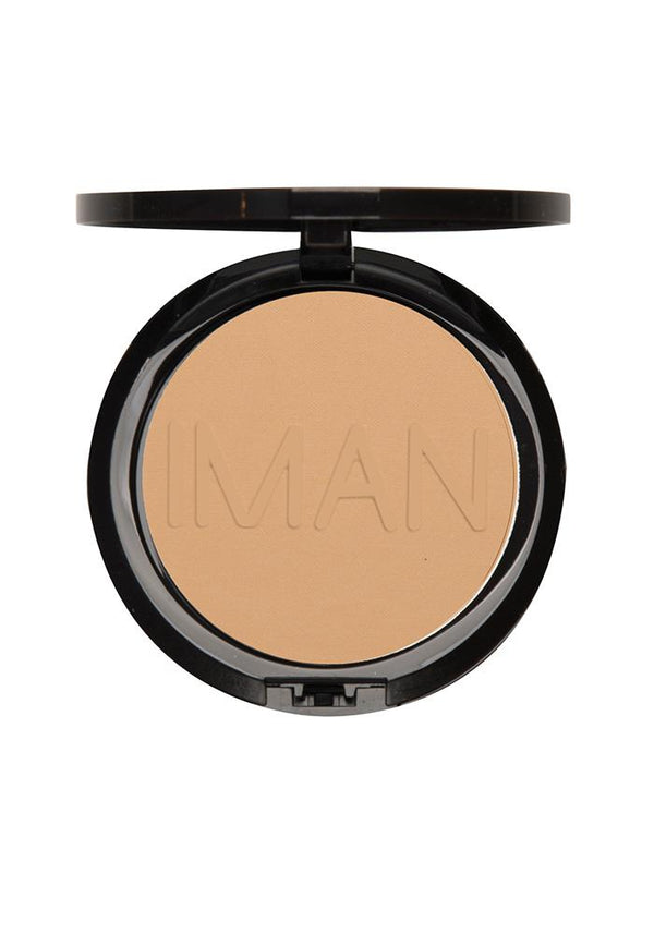 Iman Luxury Pressed Powder  Clay 2 (Non Shimmer)
