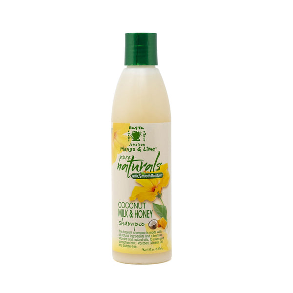Jamaican Mango and Lime Pure Naturals Coconut Milk and Honey Shampoo (8 oz.)
