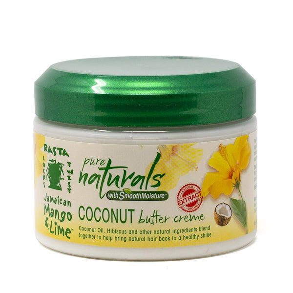Jamaican Mango and Lime Pure Naturals with Smooth Moisture Coconut Butter Creme (12 oz.)