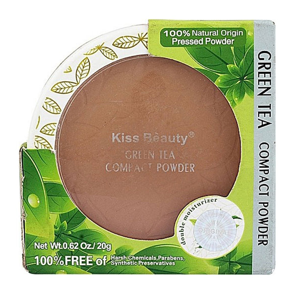 Kiss Beauty Green Tea Compact Powder