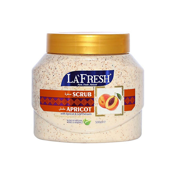 La fresh Exfoliating Natural Scrub- Apricot, 500 ml