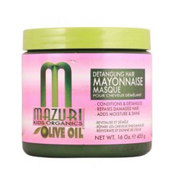 Mazuri Kids Organics Olive Oil Detangling Hair Mayonnaise Masque