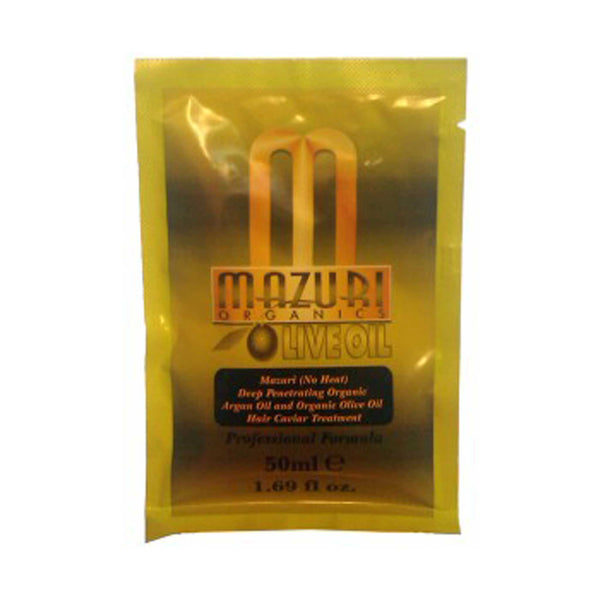 Mazuri Organics Olive Oil And Argan Oil Deep Penetrating Hair Caviar Treatment
