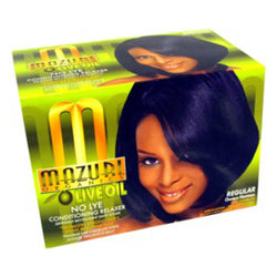 Mazuri Olive oil No-Lye Conditioning Hair Relaxer Regular