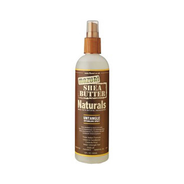 Mazuri Natural Shea Butter Untangle Detangling Spray
