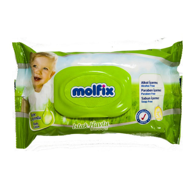 Molfix Baby Wipes 60 Count