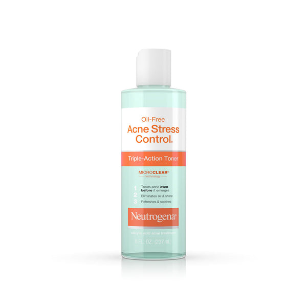 Neutrogena Oil-Free Acne Stress Control® Triple-Action Toner