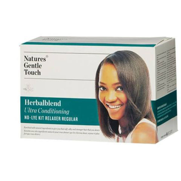 Natures Gentle Touch Herbalblend No-Lye Kit Relaxer - Regular