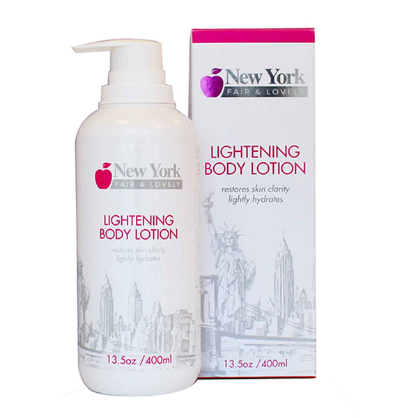 New York Fair & Lovely Lightening Body Lotion 400ml