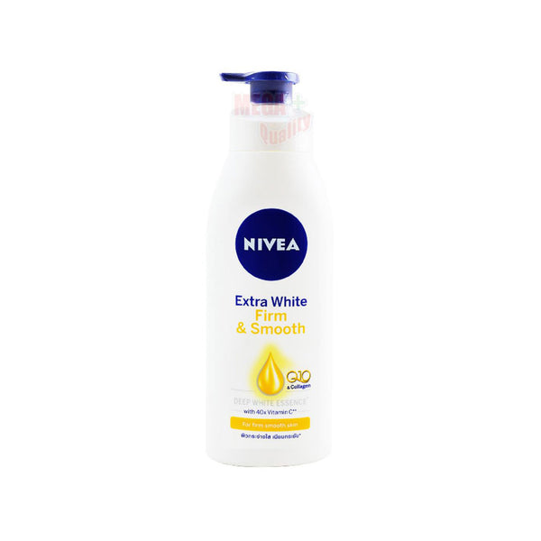 Nivea Body Lotion Extra White Firm and Smooth Q10 Collagen 40x Vitamin C 400ml
