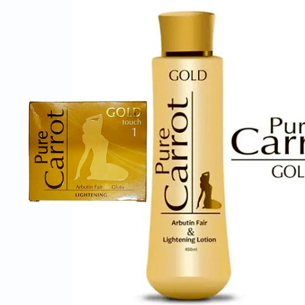 Pure Carrot Gold Lightening 2-pc Set