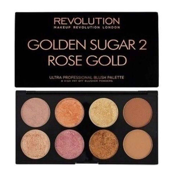 Revolution Ultra Palette Golden Sugar 2 - Blush, Bronze & Highlight
