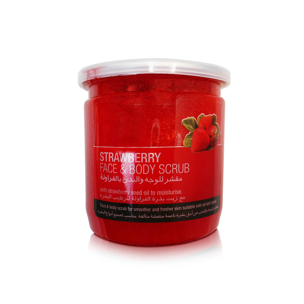 Strawberry Skin Doctor Strawberry Face & Body Scrub