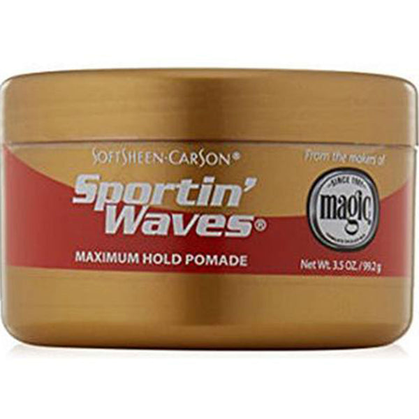 Softsheen Carson Sporting Waves Maximum Hold Gel Pomade 99.2 g
