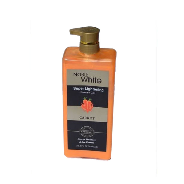 Noble White (Super Lightening) Shower Gel Carrot