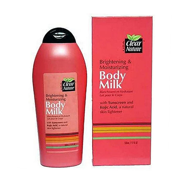Clear Nature Brightening and Moisturizing Body Milk