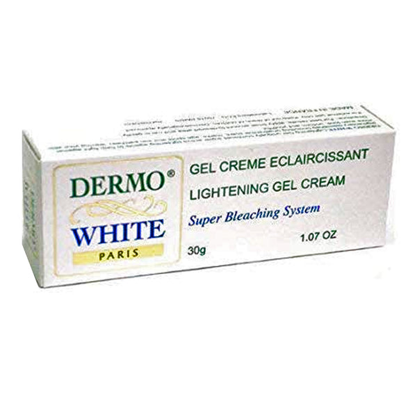Dermo White Lightening Gel Cream Super Bleaching System 1.07 Oz.
