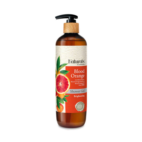 WATSONS Natural Blood Orange Shower Gel 490ml