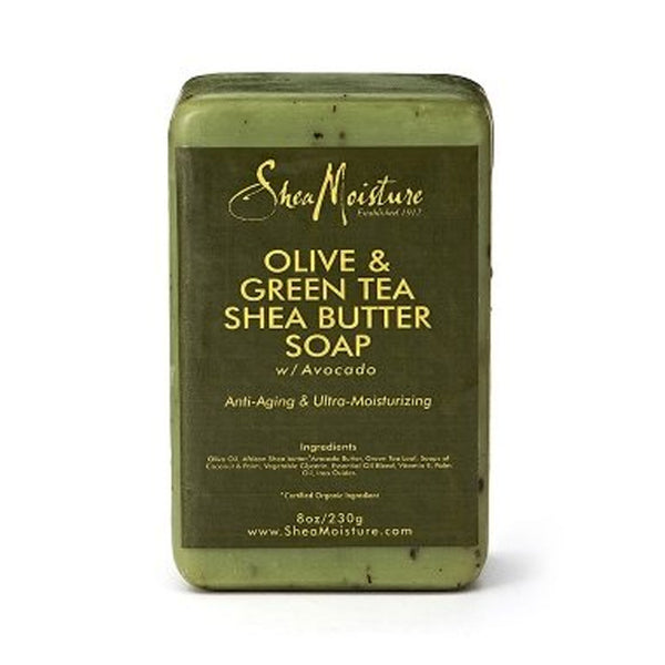 Shea Moisture Olive & Green Tea Shea Butter Soap