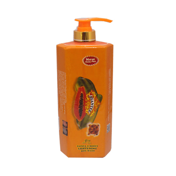 Asantee Papaya & Honey Bath Wash 1000ml
