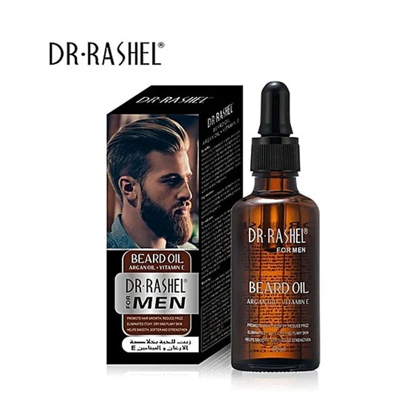 DR RASHEL Beard Oil With Argan Oil & Vitamin E - 50ml