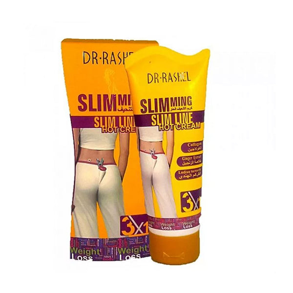Dr Rashel SLIMMING-SLIM LINE HOT CREAM WITH INDIAN TUMERIC - 150g