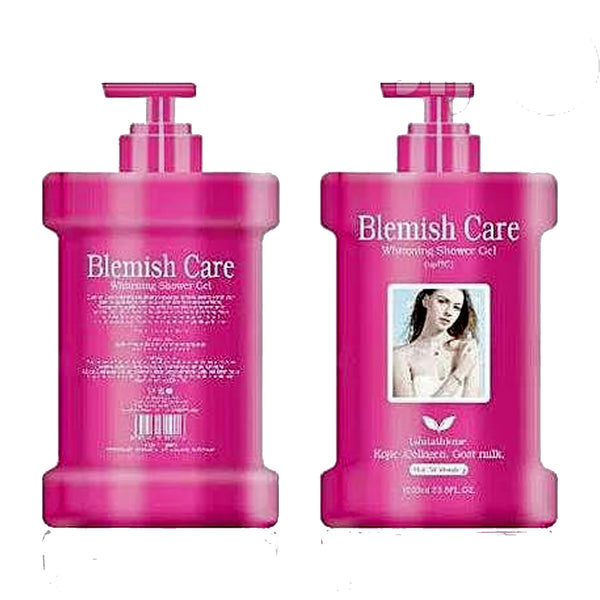Blemish Care Whitening Shower Gel - (Kojic, Collagen And Goat Milk)