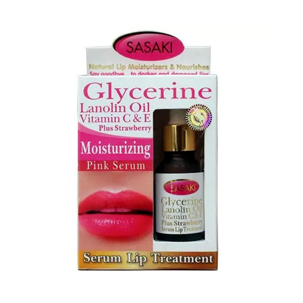 Moisturizing Pink Serum -serum Lip Treatment - 15ml