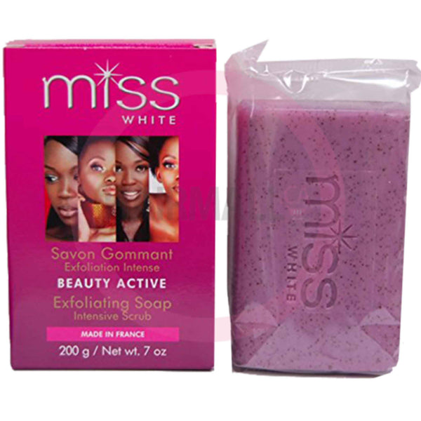 Fair and White Miss White Beauty Active Exfoliating Soap- 200gram
