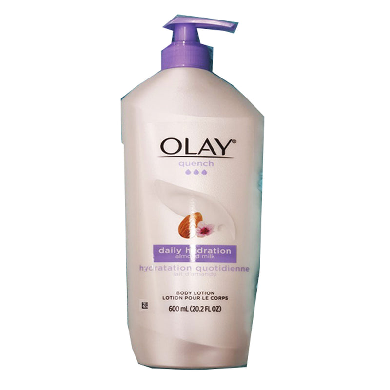 Olay Quench Daily Hydration Almond Milk Body Lotion 600ml