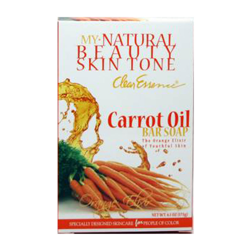 Clear Essence My Natural Beauty Skin Tone Carrot Oil Soap - 6.1 oz.