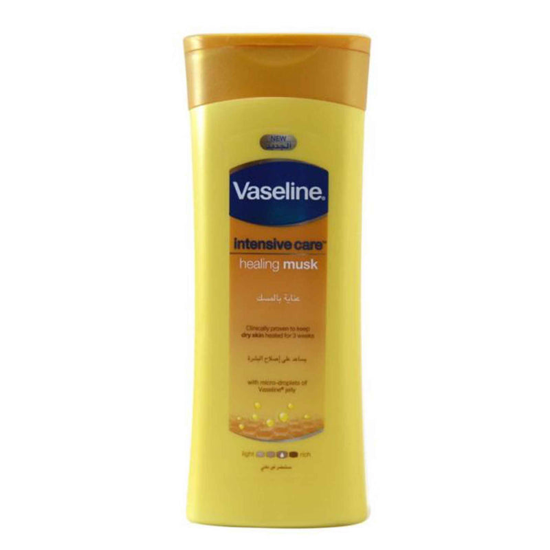 Vaseline Intensive Care Healing Musk Lotion