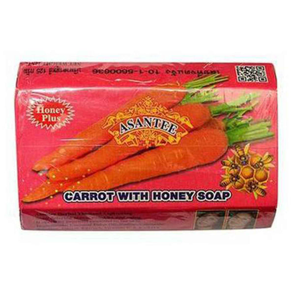 Asantee Carrot With Honey Soap 125g