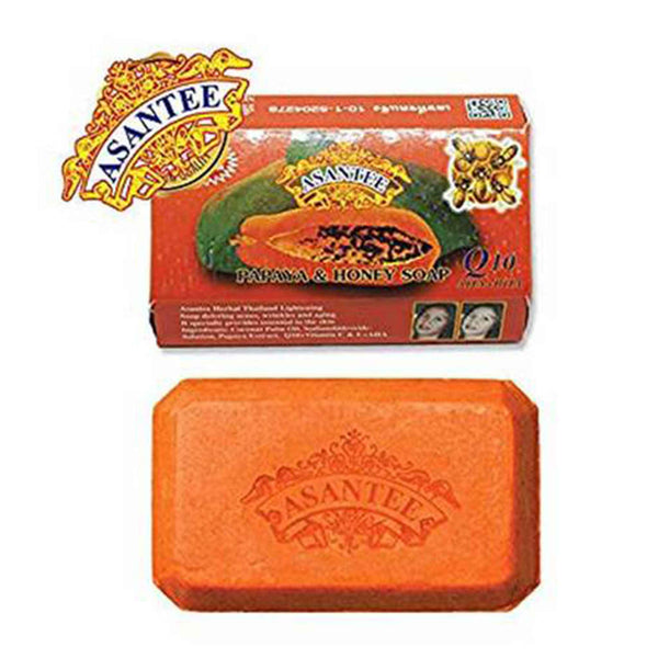 Asantee Papaya & Honey Soap 125g