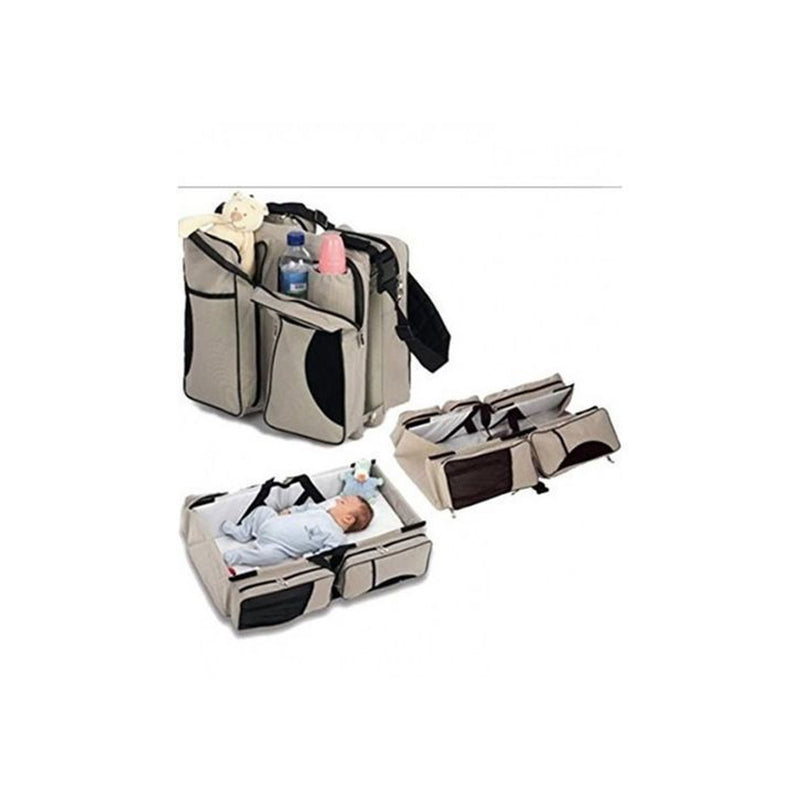 Baby Diaper Bag And Travel Cot  Mother Care