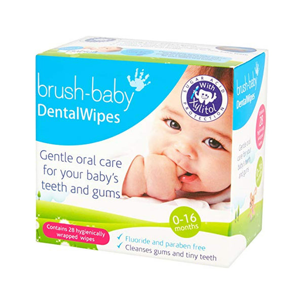 Brush Baby Dental Wipes -28 count