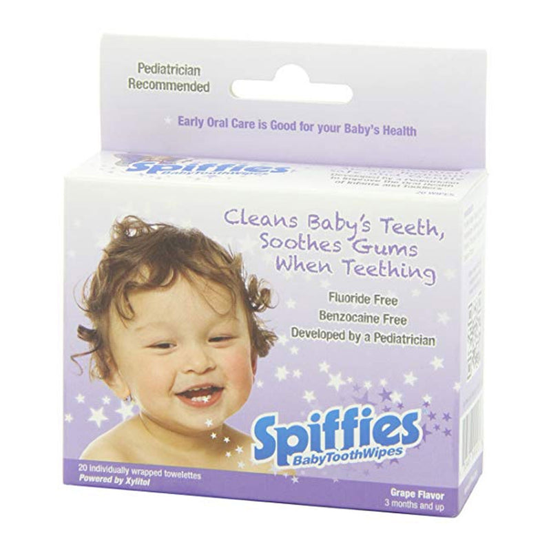 Spiffies Baby Tooth Wipes
