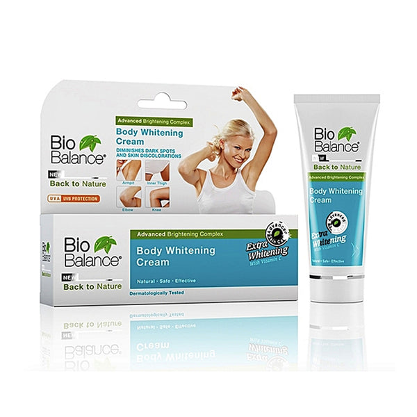 Bio Balance Body Whitening Cream- Extra Whitening - Back To Nature