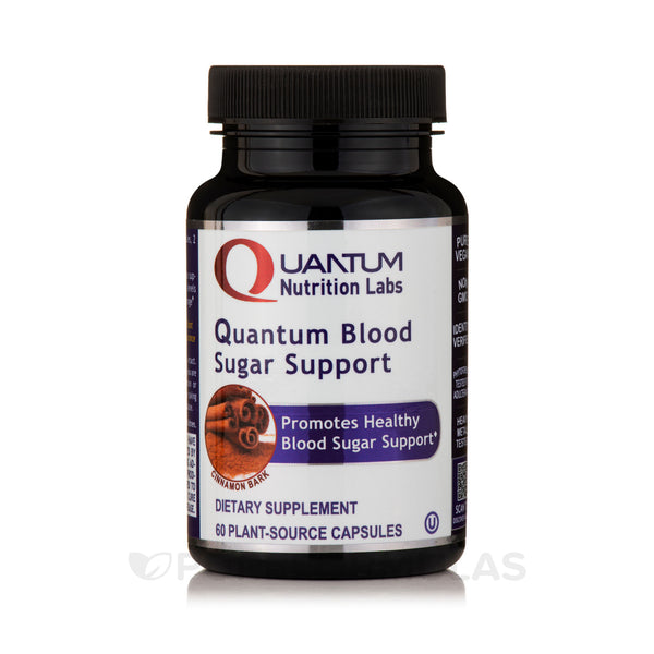 Quantum Nutrition Labs Blood Sugar Support,60 Caps Healthy Blood Sugar Support