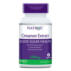Natrol Cinnamon Extract- Blood Sugar Balance