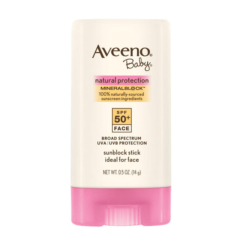 Aveeno Baby Natural Protection Sunblock Stick With Spf 50