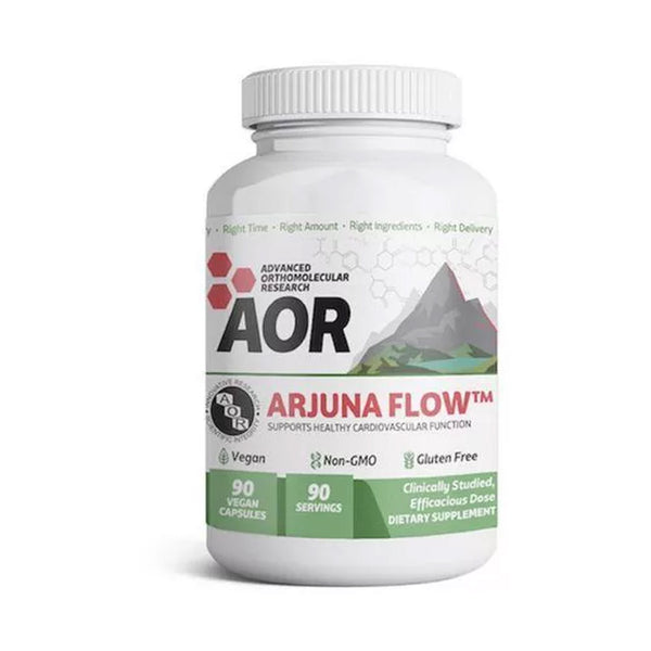 Advanced Orthomolecular Research AOR Arjuna Flow 90 Caps (Cardiovascular Funtions)