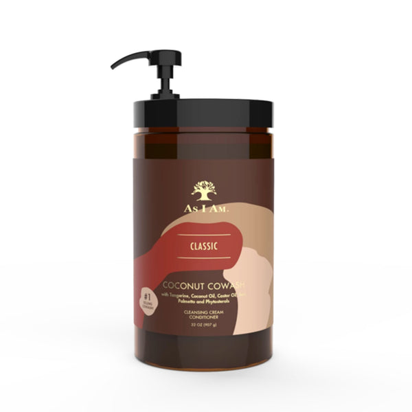 As I Am Classic Coconut Co wash Cleansing Conditioner 32oz
