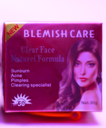 Blemish Care Clear Face Natural Formula