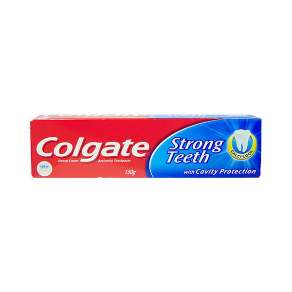 Colgate Toothpaste Strong Teeth Dental Cream (150 g)